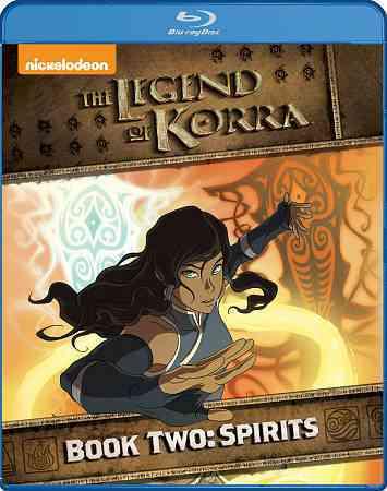 LEGEND OF KORRA:BOOK TWO SPIRITS BY LEGEND OF KORRA (Blu-Ray)