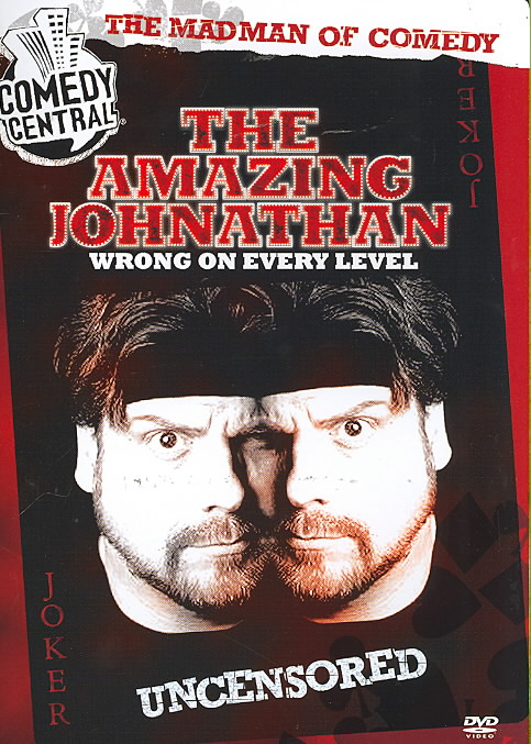 AMAZING JOHNATHAN:WRONG ON EVERY LEVE (DVD)